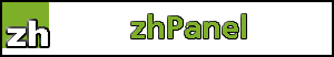 zhPanel login - control a single hosted domain